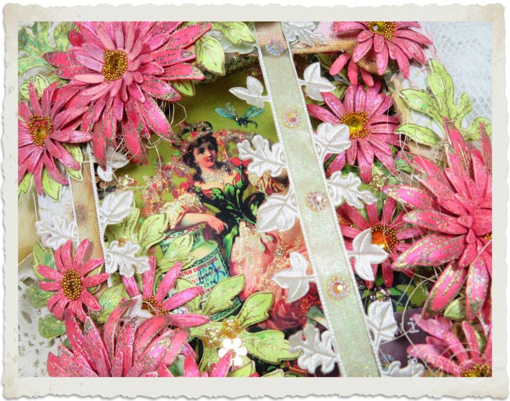 Flower Fairy card with Heartfelt Creations Wild Asters