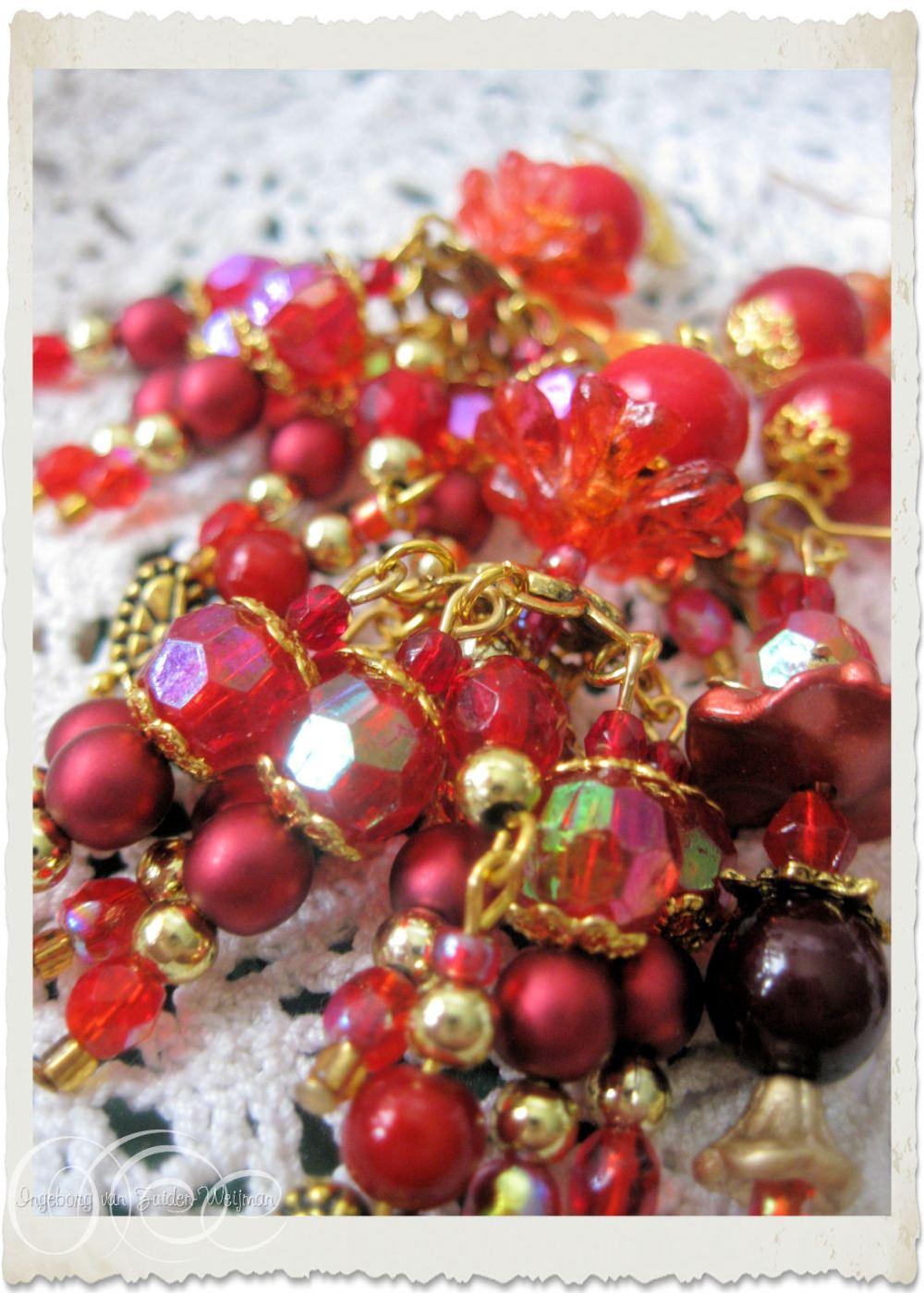 AB shiny beads