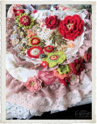 Floral embellishing by Ingeborg van Zuiden