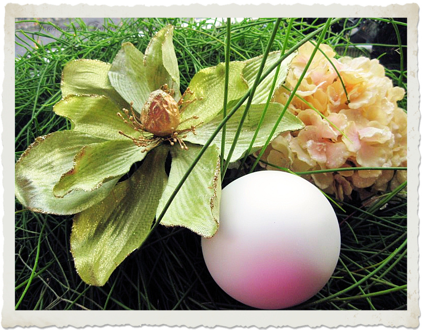 Balls and flowers