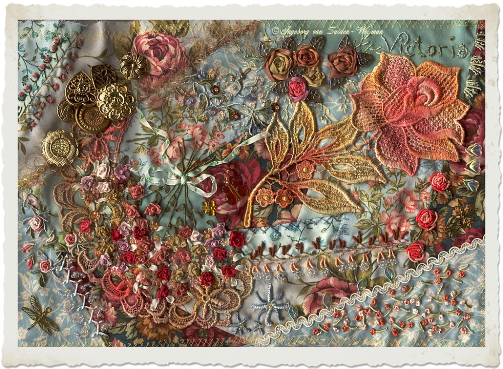 Victoria embroidery by Ingeborg
