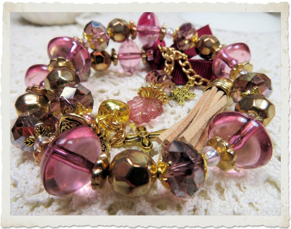 Handmade bracelet by Ingeborg van Zuiden