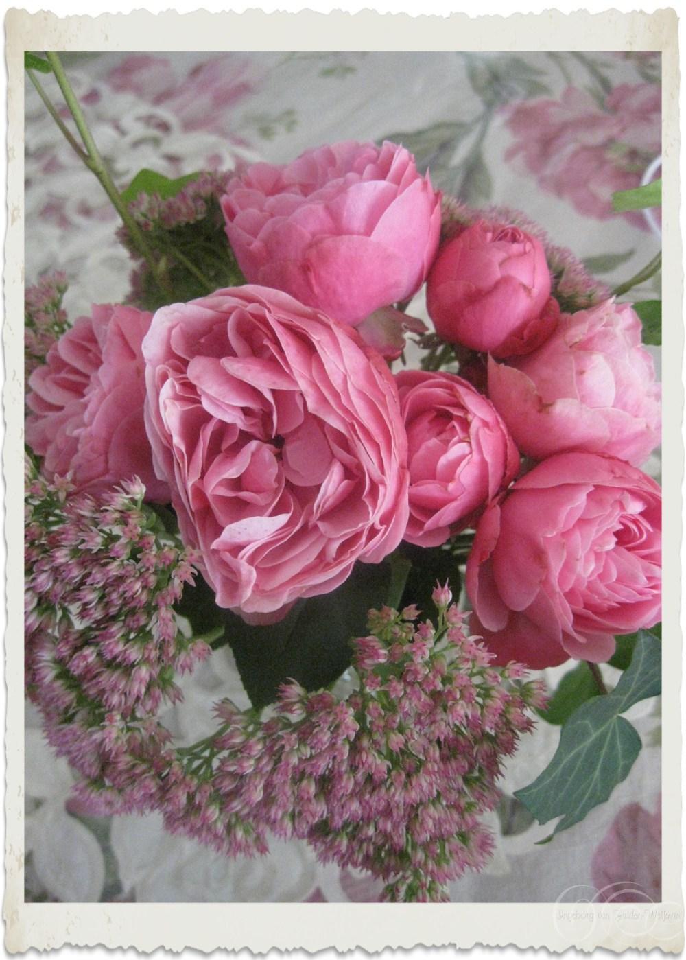 A bouquet from the garden