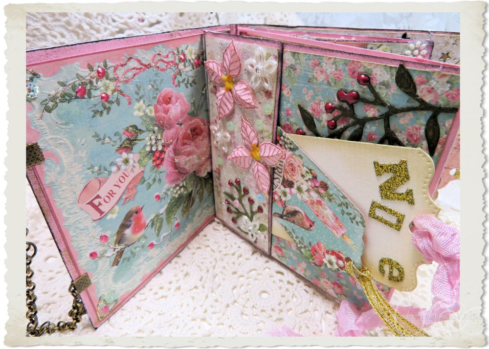 Pastel Christmas book by Ingeborg van Zuiden