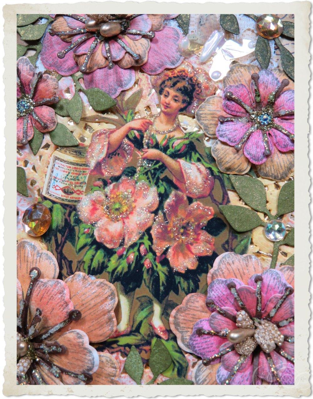 Wild roses fairy