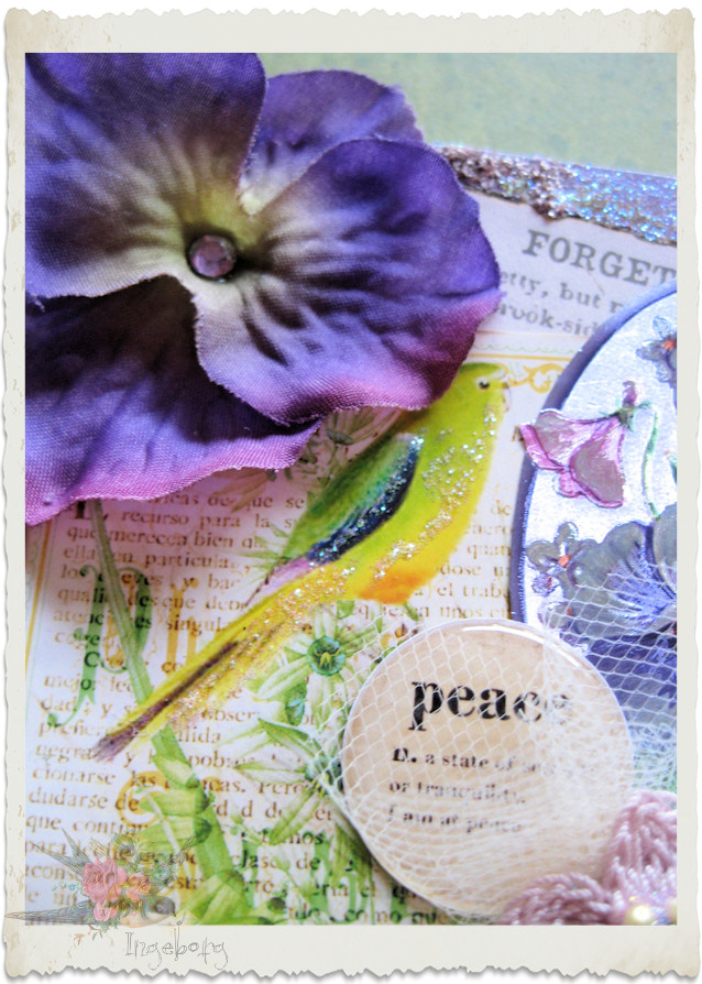 Peace wordart