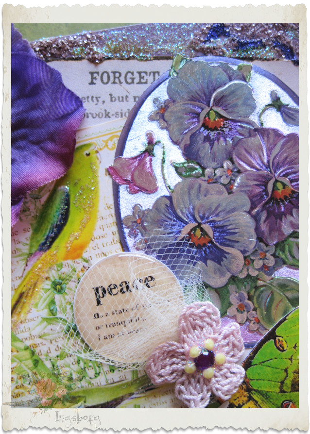 Peace pansies