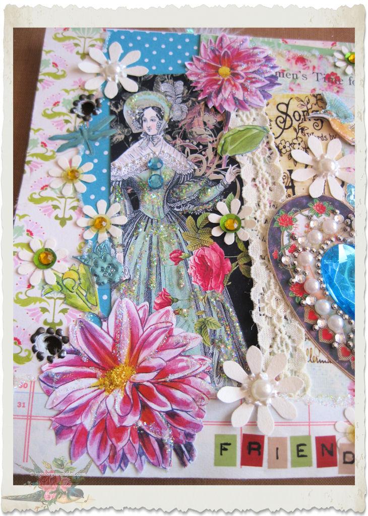 Regency lady art