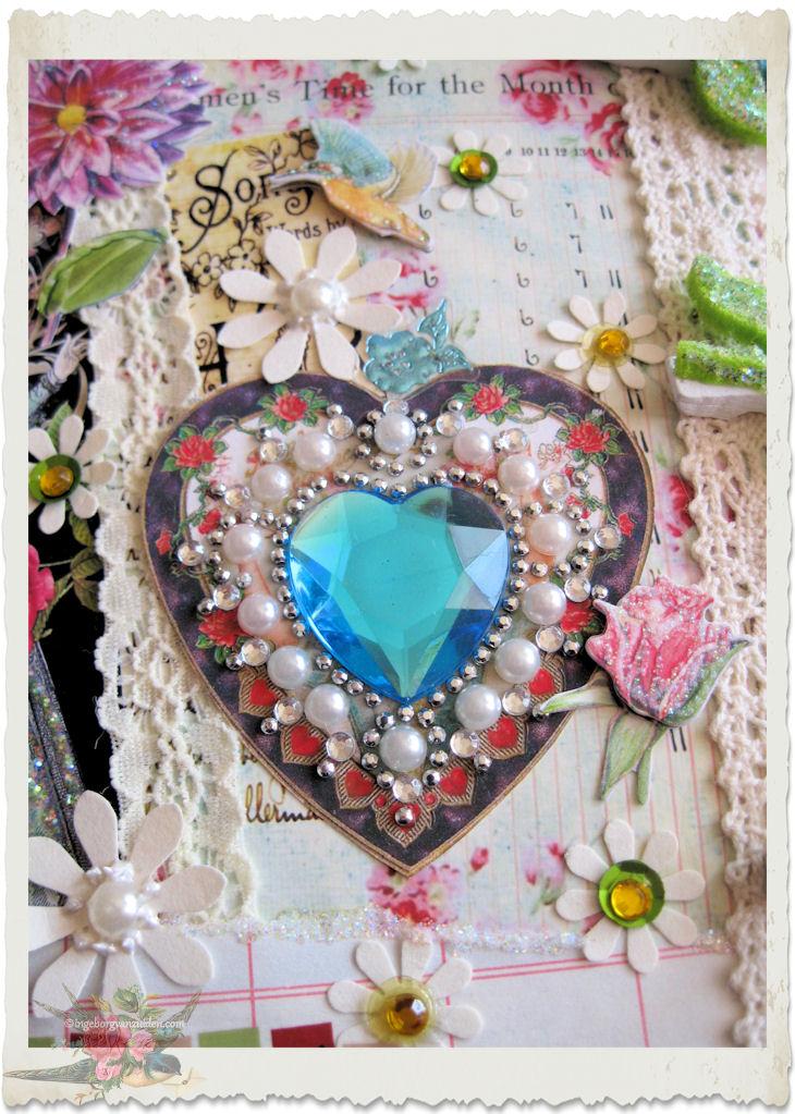 Bling bling heart