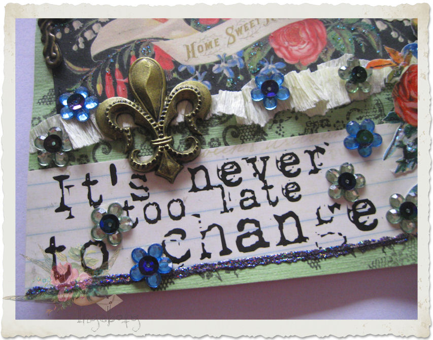 Quote it's never too late to change