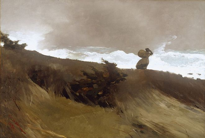 """""""The West Wind"""" by Winslow Homer"""