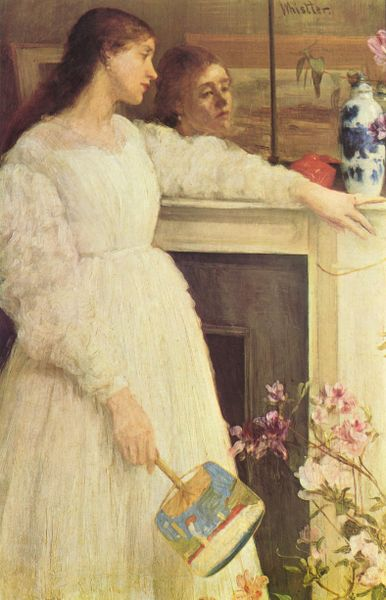 """Symphony in White No. 2″ by James McNeill Whistler"