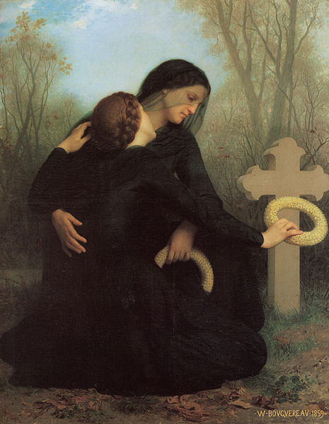 """""""The Day of the Dead"""" by William-Adolphe Bouguereau"""