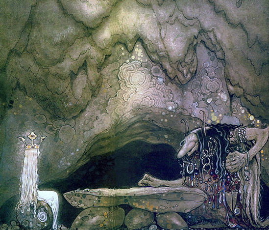 """""""So, how is your appetite?"""" by John Bauer"""