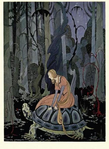 illustration by Virginia Frances Sterrett