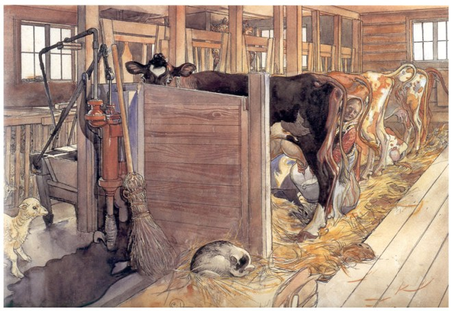 Carl-Larsson.thestable2