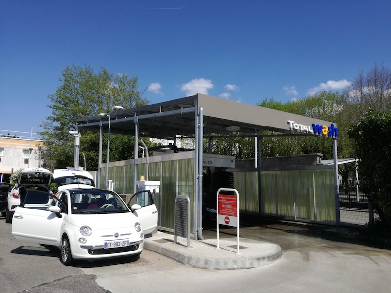 Stations de lavage TOTAL