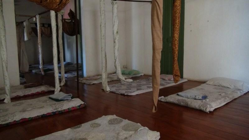 Pænt massage værelse, ikke som vi kender dem fra Danmark, men de kan være meget værre end dette!