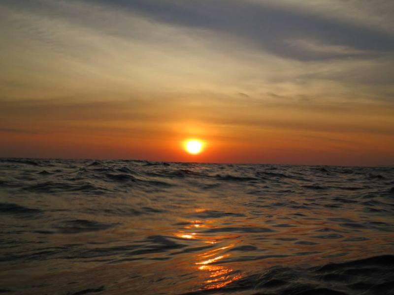 Similan islands, richelieu rock, koh tachai, koh bon, thailand, dykning, liveaboard, solnedgang