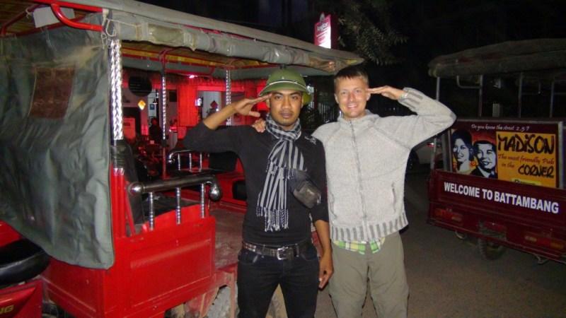 Tuk tuk, cambodia, vietnam hjelm