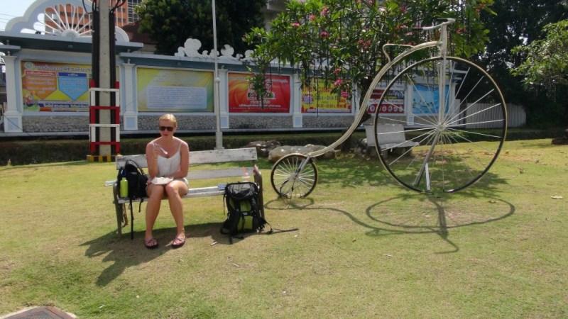 Phuket town, Thailand, backpacking