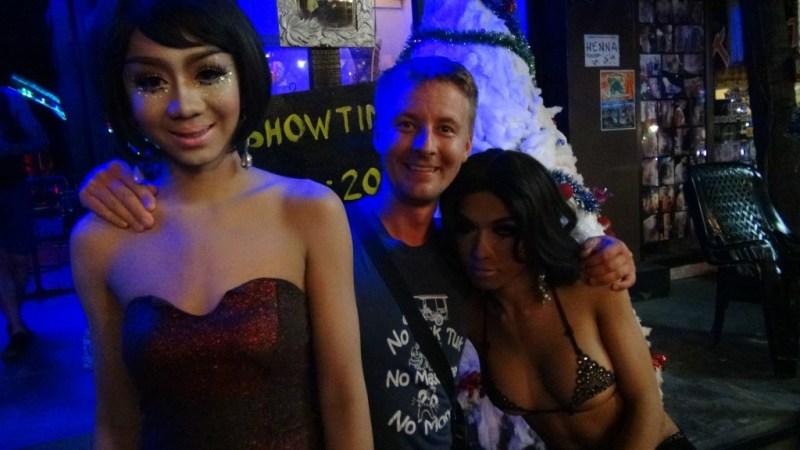 Ladyboy kabaret show, koh tao, thailand