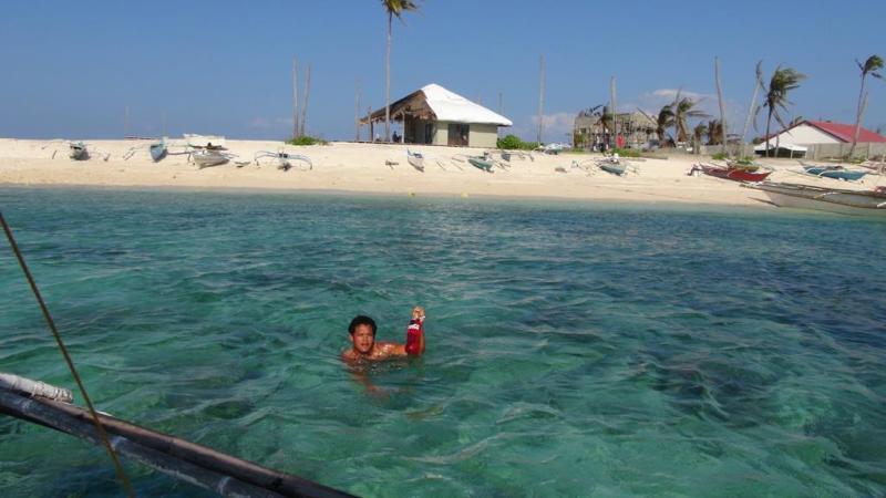 filippinerne, malapasqua, bådtur