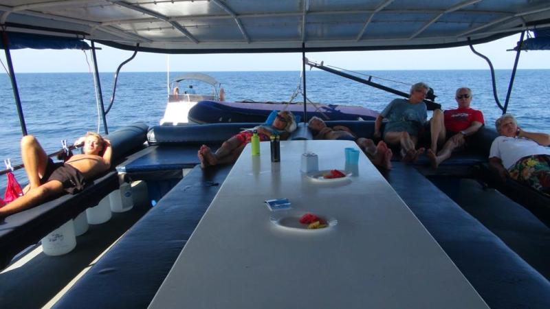 Thailand, koh lanta, liveaboard, dykning, manta
