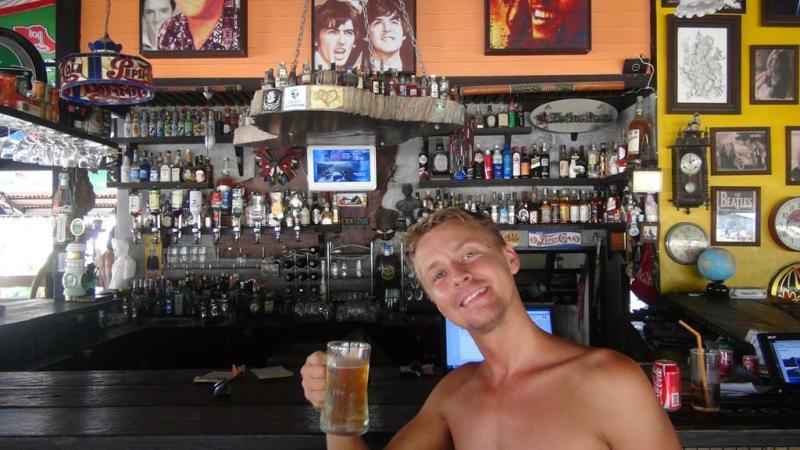 Thailand, koh lipe, ø, strand, lokale, bar