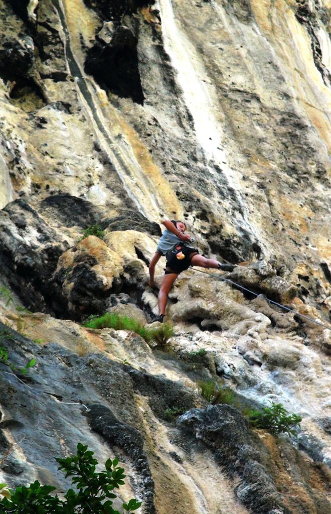 railey beach, thailand, strand, palmer, rock climbing, klatring