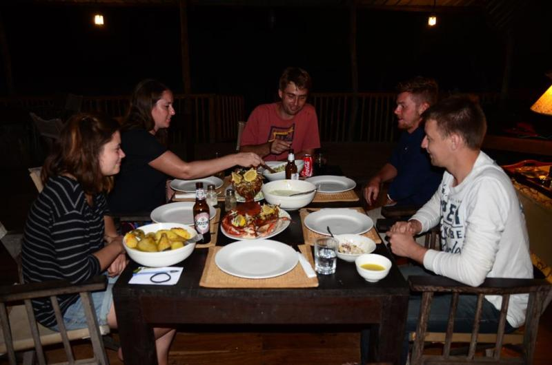 nZuwa Lodge, kitchen, pemba, Mozambique