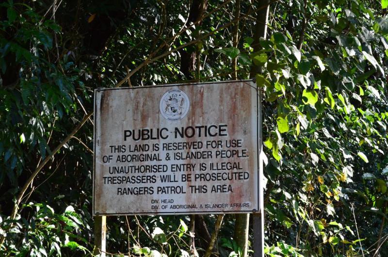 De indfødte, aborgines, er meget territoriale.