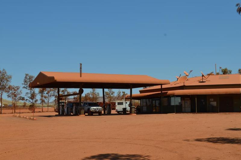 Alt har samme farve i outbacken...