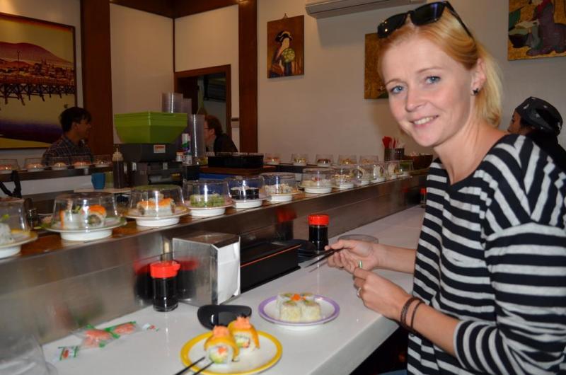 Sushi tid!!