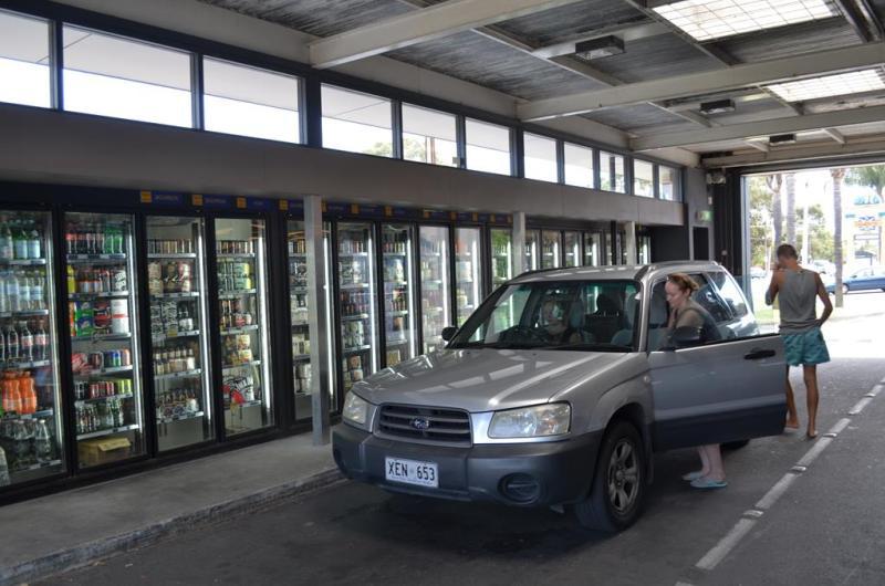 Pitstop ved en bottleshop!