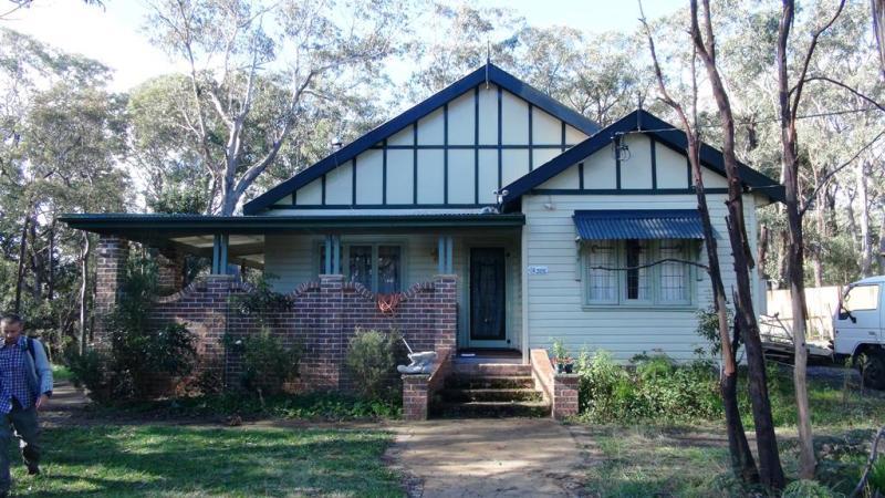 Bjorn's hjem i Bullaburra