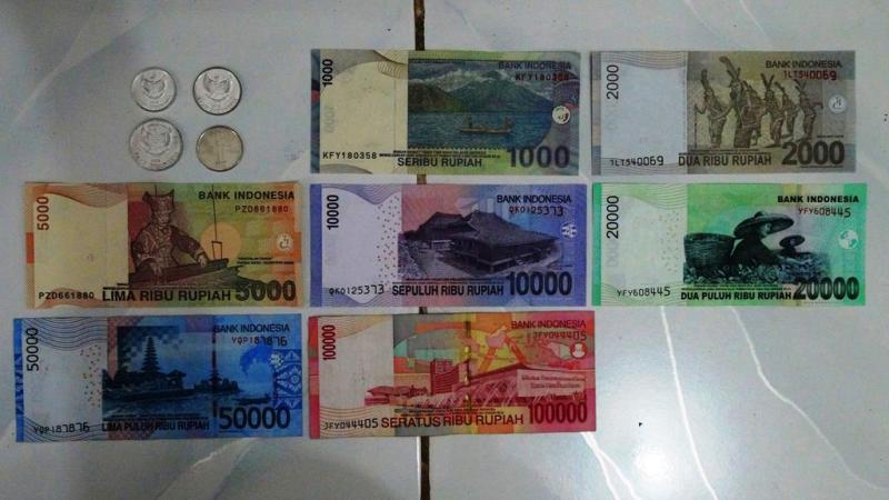Indonesiske rupiah