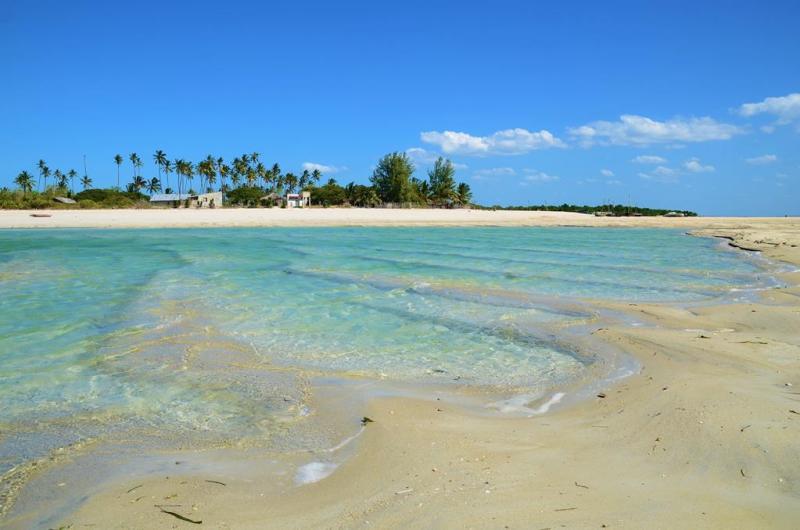 Stranden på Quirimba var meget smukkere end vi havde turde håbe på