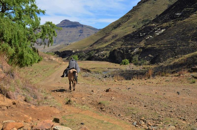Hovedvejen igennem Lesotho