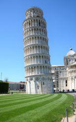 Pisa, Italien, det skæve tårn i pisa