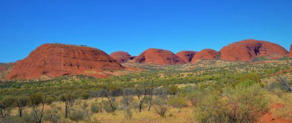 Australien, kata tjuta, outback