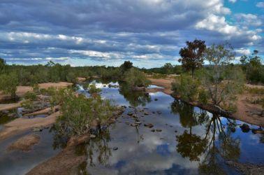 Australien, outback, oase,