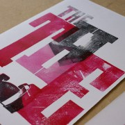 Red Hot Press, Letterpress work by Katherine Anteney