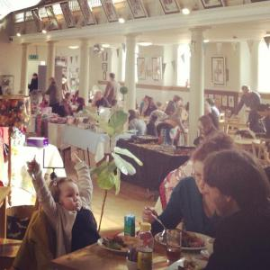 St Paul's Cafe, St Pauls Art Centre, plus art & craft fair