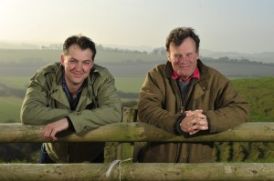 Chalke Valley co-chairs, James Heneage and James Holland