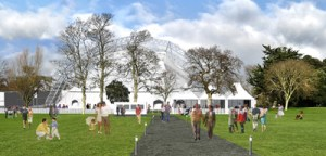 Artist's impression of Theatre in the Park