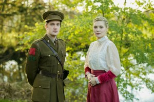 George Banks (Stephen Wraysford) and Carolin Stoltz (Isabelle Azaire) from the 2014 touring production of Birdsong. Photo: Jack Ladenburg