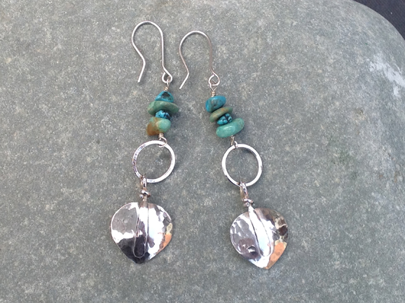 earrings by Vee Pease