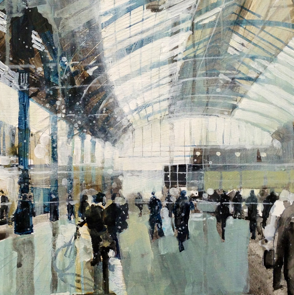Julian Sutherland Beatson; Daily - Brighton station