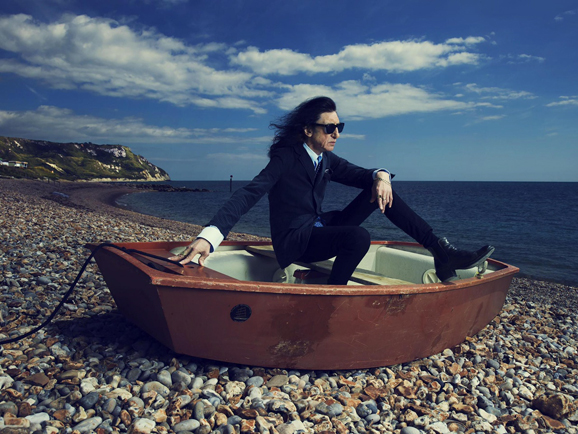 John Cooper Clarke, photo National Trust by Tom Oldham
